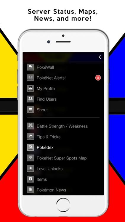PokeNet - Guide, Maps, and Social Network for Pokemon Go! screenshot-4
