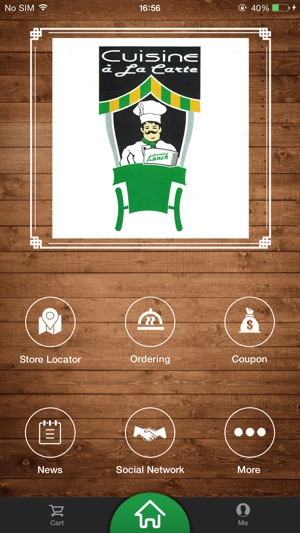 Cuisine A La Carte On The App Store