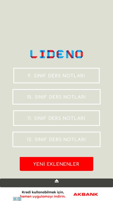 点击获取Lideno | Lise Ders Notları