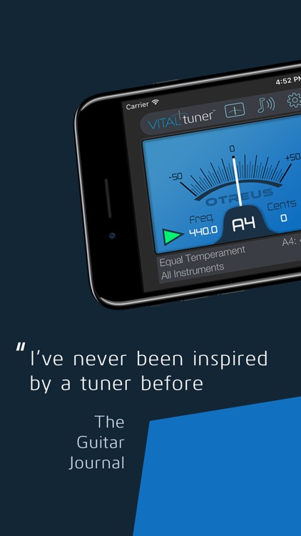 VITALtuner Pro - Only the best tuner screenshot-0
