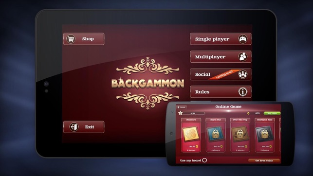 Backgammon online - Play multiplayer board game narde ...