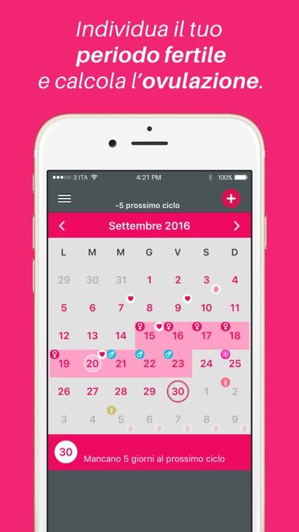 Calendario Ovulazione Giorni Fertili.Pinkup Ciclo Mestruale E Calcolo Ovulazione By Pinkup Srl