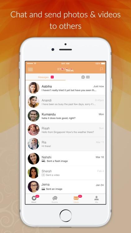 India Social - Indian Dating App, Meet & Desi Chat screenshot-4