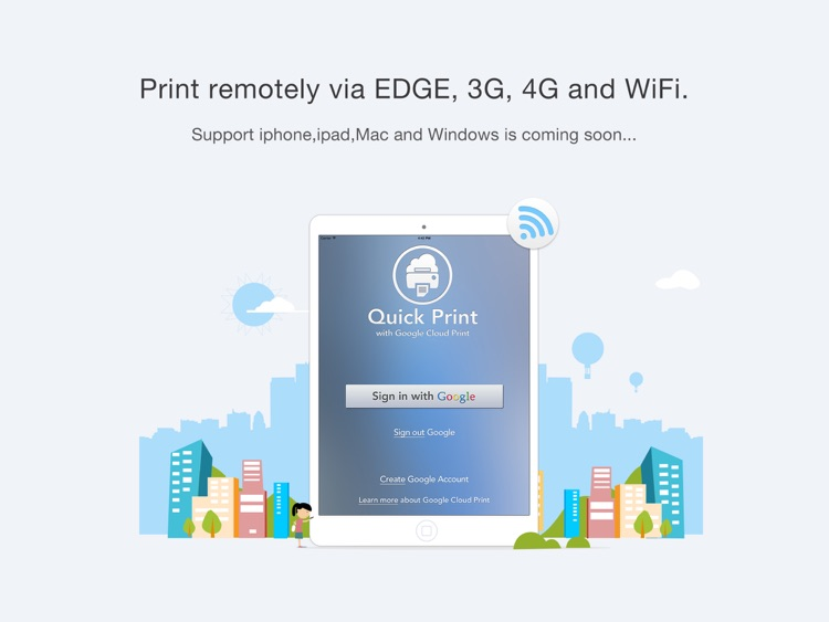 Quick Print Cloud for iPad