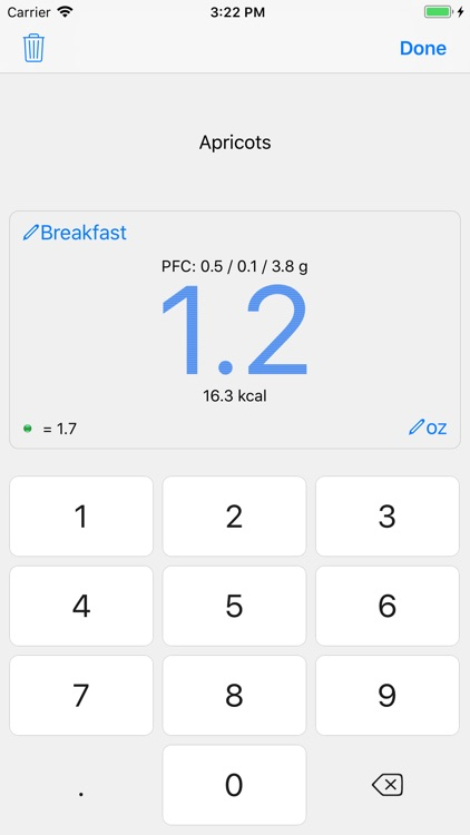 Noco Calories screenshot-3