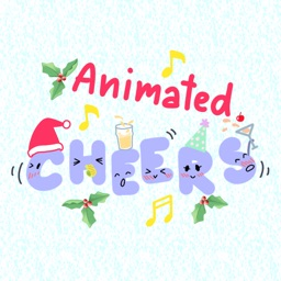 Animated Christmas Dancing Troupe Stickers