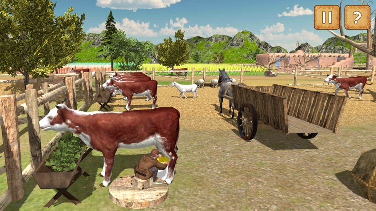 Village Farmers Simulator 3D screenshot-4