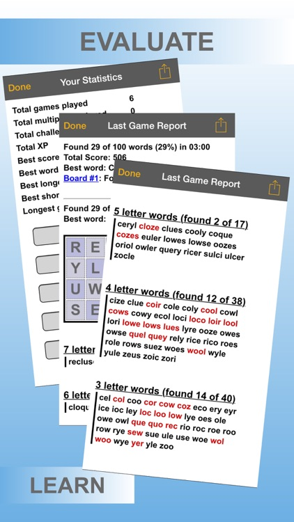 Word Shaker HD Lite screenshot-3