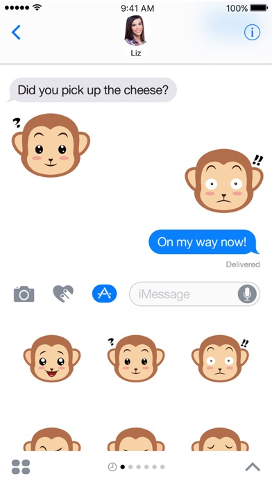 Screenshot #4 for Monkey Expressions