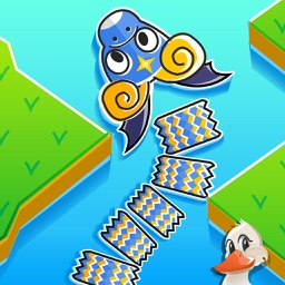 Happy Dragon Arrow: An Endless Crossy Swim Mania