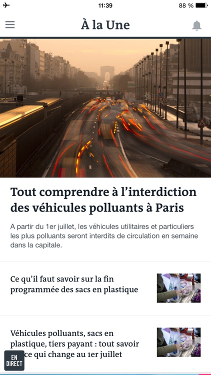 Le Monde, l'info en continu screenshot-0