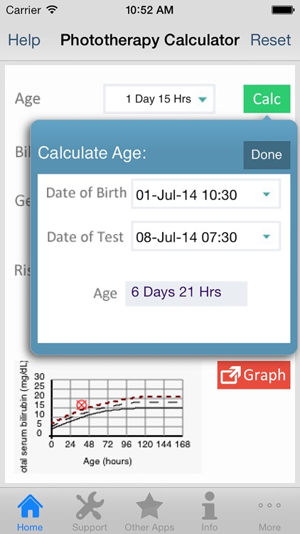 Phototherapy Calculator screenshot-2