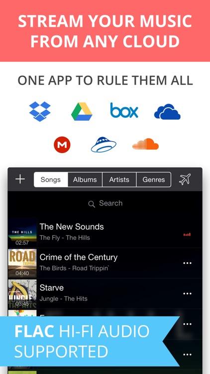 Eddy Cloud Music Player  & Streamer Pro
