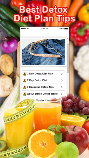 Best Detox Diet Plan Tips on the App Store