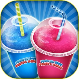 Frozen icee slushy maker: Make cold desserts! frozen drinks with magical decorations in crazy slush factory