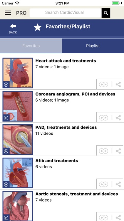 CardioVisual: Heart Health screenshot-3