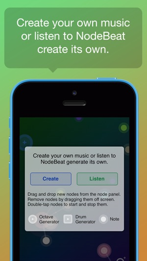 NodeBeat - Playful Music Screenshot