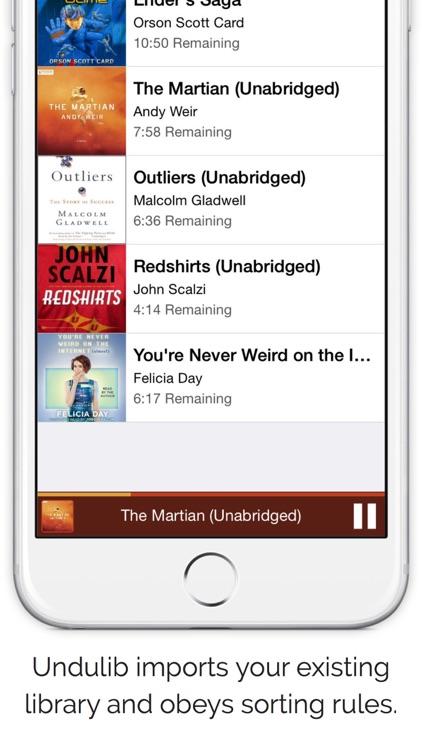 Undulib - Audiobook & Audio Drama Player screenshot-4