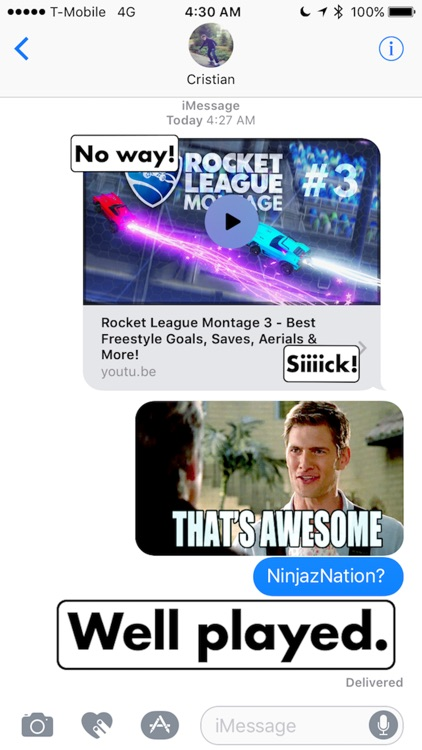 Rocket League Chat Sticker Pack!