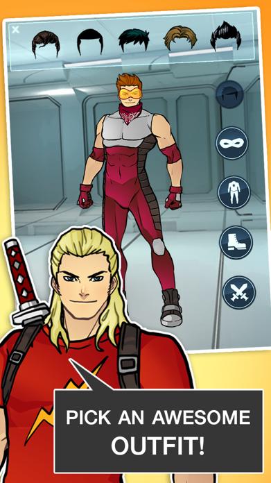 Super Hero Games - Create A Character Boys Games 2 Screenshot