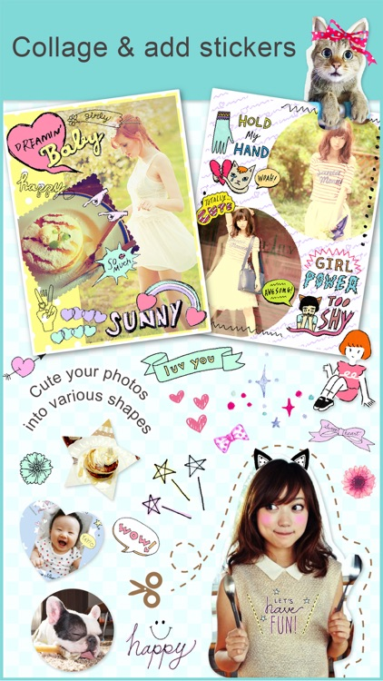Collage&Stickers papelook