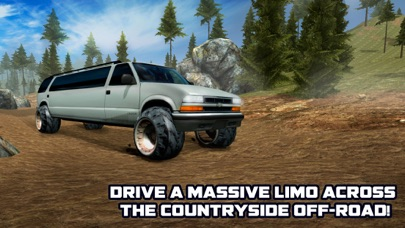 Offroad Hill Limo Driving Simulator 3D screenshot two