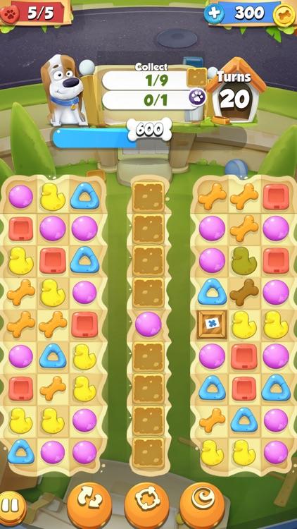 Cute Pet Match 3 Games Puzzle-Matching Jewels Saga
