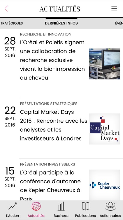 L'Oréal Finance screenshot-2