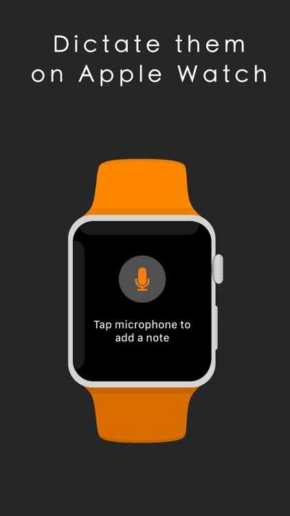 WatchNotes - Display notes on watch face