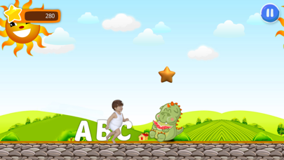 Genius rush magic alphabet ABC word learning free screenshot three
