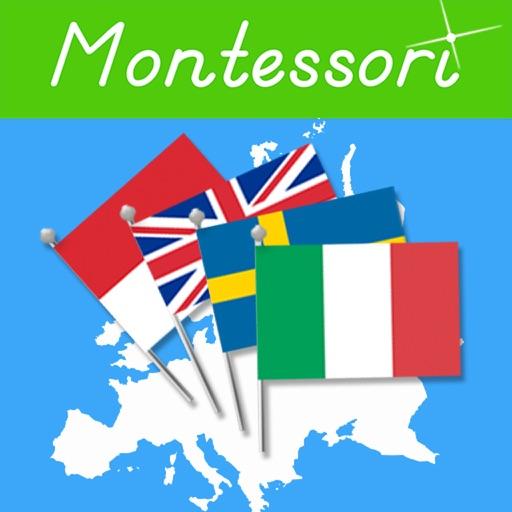 Le Bandiere dell'Europa- Montessori Geografia