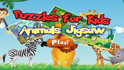 Zoo Animals Jigsaw - Puzzle Box Learning For Kid Toddler and Preschool Games screenshot one
