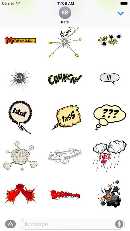 Comic Stickers screenshot-4