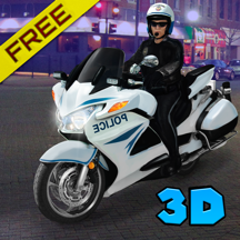 City Police Motorcycle Simulator 3D