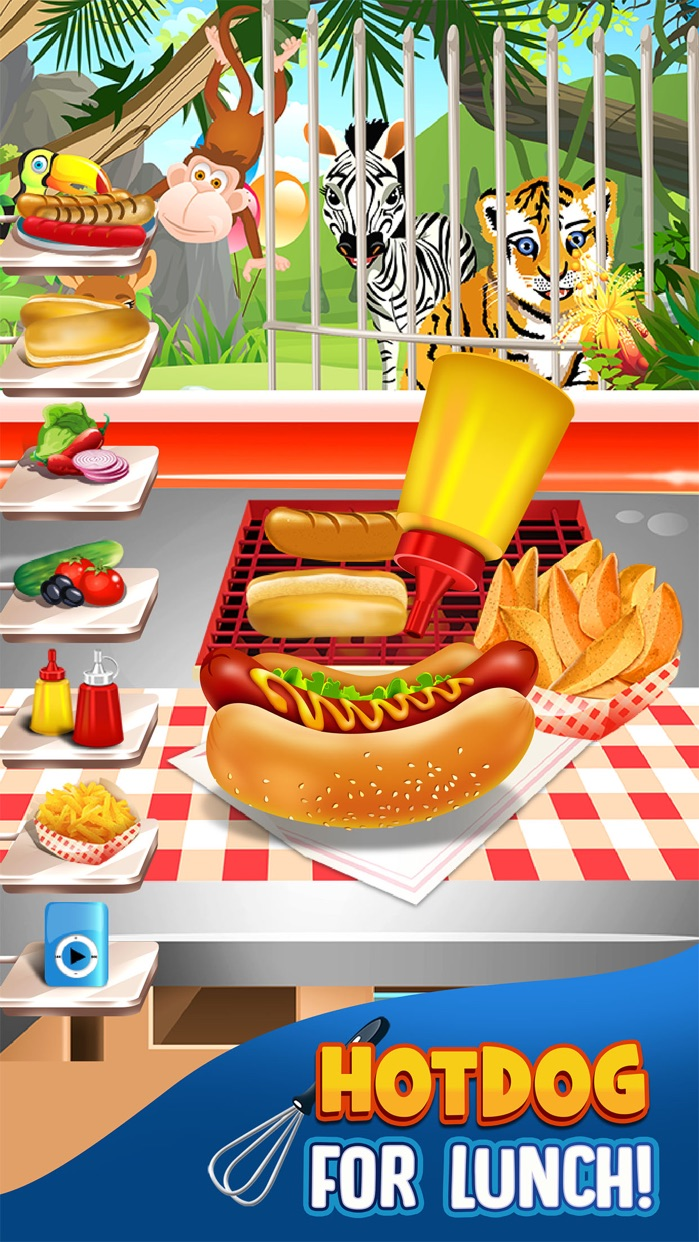 Cooking Maker Food Games for Kids (Girl Boy) Free Screenshot