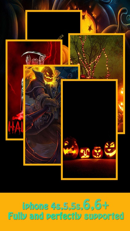 Halloween Backgrounds & Wallpapers HD - Home Screen Maker with Pumpkin, Horror ,scary Images screenshot-3