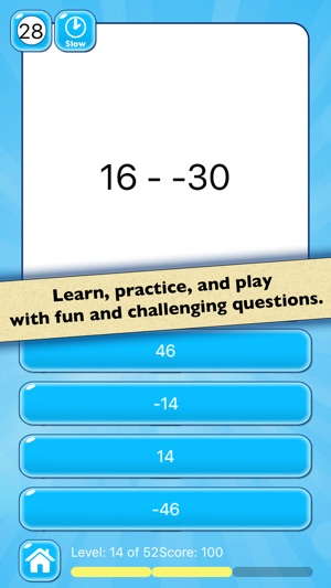 Subtraction Math Test — Practice Simple Math Facts on the App Store