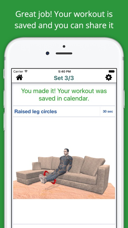 Home Sofa Workout Challenge PRO - Lose Weight screenshot-3