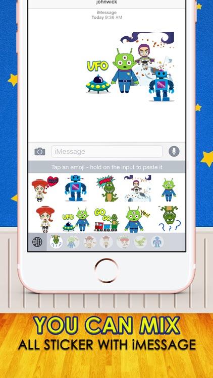 Cowboy Cartoon Stickers Keyboard Themes ChatStick