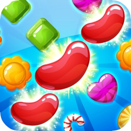 Candy Gems Fever: New Genies Puzzle