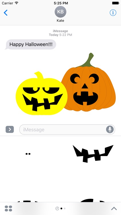 Pumpkin Carver Sticker Pack screenshot-3