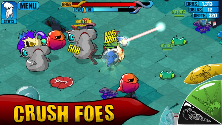 Quadropus Rampage screenshot-1