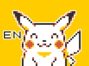 Pokémon Pixel Art, Part 1: English Sticker Pack