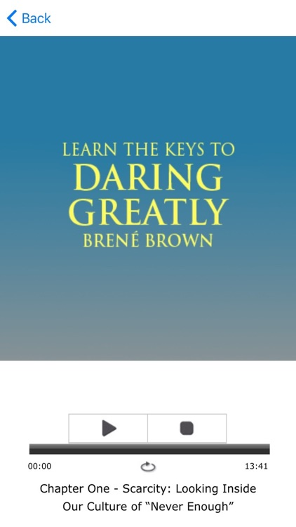 Meditation for Daring Greatly by Brene Brown