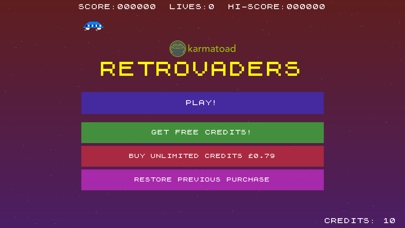 Screenshot from Retrovaders