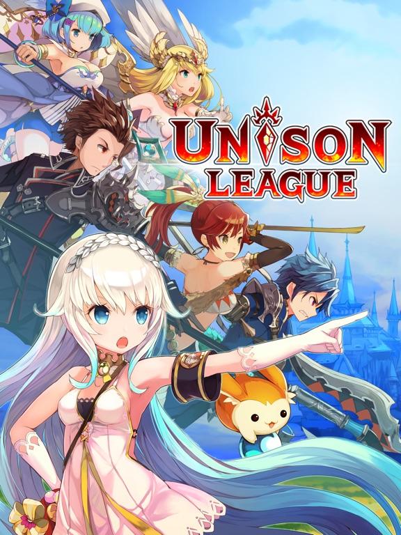 Unison League на iPad