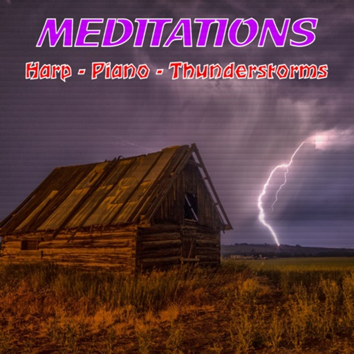 Meditations:Harp Piano Thunder