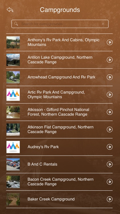 Washington Camping & RV Parks screenshot-2