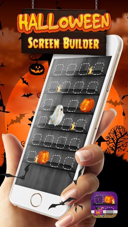 Halloween Screen Builder
