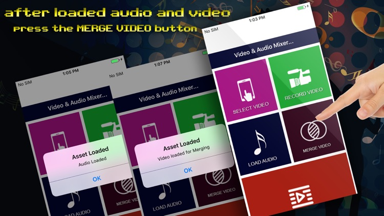 Video & Audio Mixer as Background Music